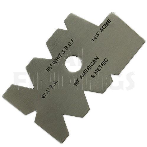 Screw Cutting Gauge - 55°/ BSW / BSF / BA / ACME