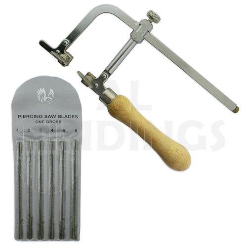 Adjustable Saw & 144 Mixed 1-6 Blades