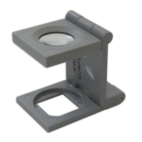 Hands Free & Folding 10x Magnifier Eyeglass