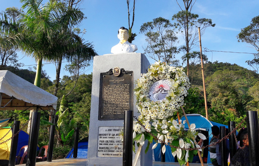 Monument of President Ramon Magsaysay