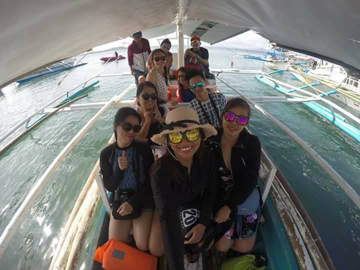 en route to Gigantes Island