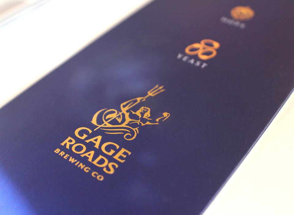 Gage Roads Folder Design