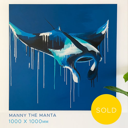 SOLD - Manny the manta