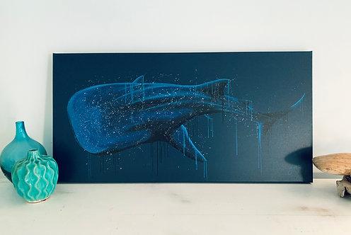 'Wendy' - Whale Shark Canvas Print