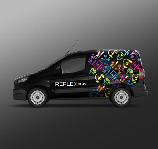 Reflex Films Van Design