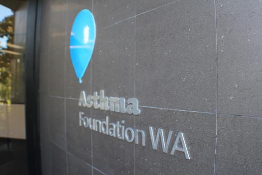 Asthma Foundation WA Exterior Signage