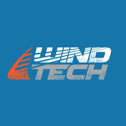 Windtech Windsurfing Logo Design