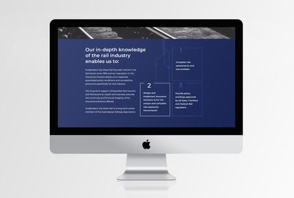 AB City State Rail web page