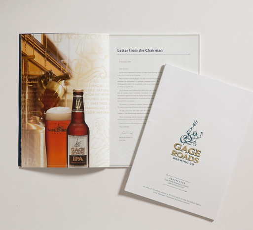 Gage Roads Annual Report Design