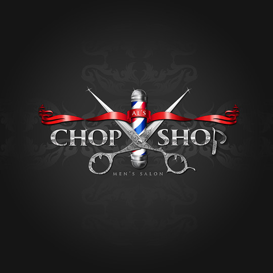 Al's Chop Shop Logo Design