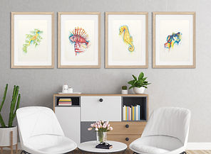 WATERCOLOUR PRINTS