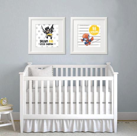 Nursery Prints- Digital Illustration