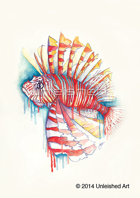 Lionfish Limited Edition Print