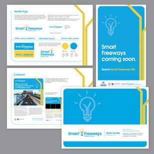 Smart Freeways Collateral design
