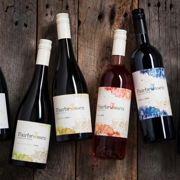 Fairbrossen Winery Rebrand