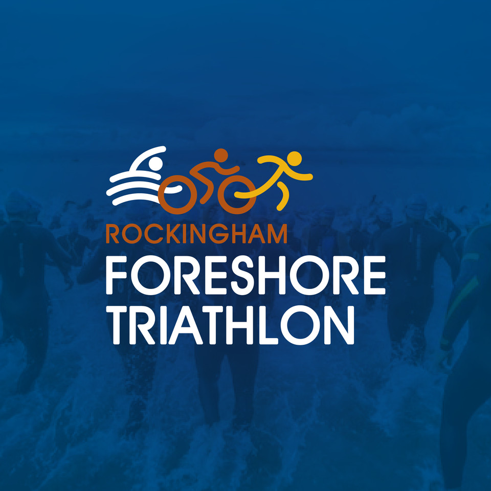 Foreshore Triathlon Logo Design