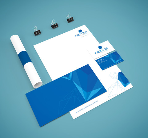Fruition design and build stationery