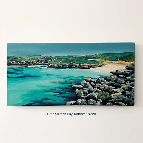 SOLD - Little Salmon Bay, Rottnest (610mm x 300mm)