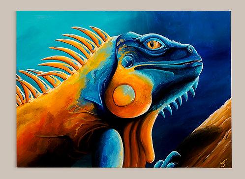 Iguana (765mm x 555mm)