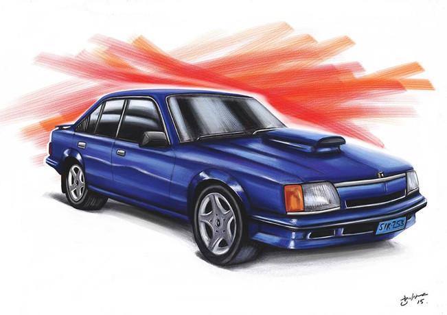 Commodore  - Digital Illustration