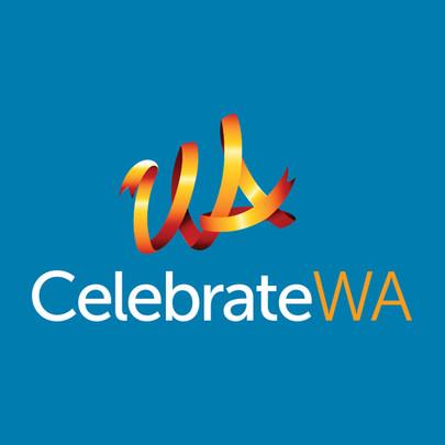 Celebrate WA Logo Design concept