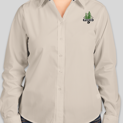 Women's button shirt