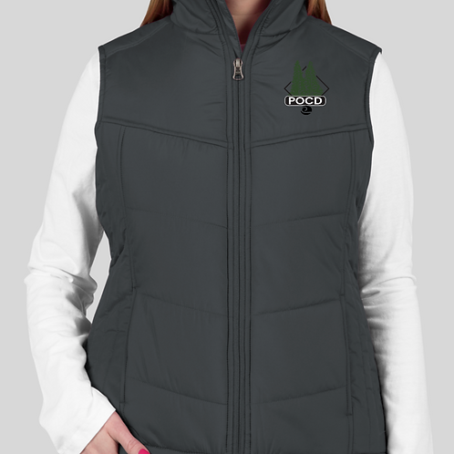 Womens Puffy Vest