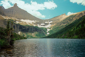 Miche Wabun Lake - GNP - circa 1990
