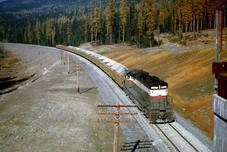 MK Ballast Train - Rock Creek  01  11-24-1970