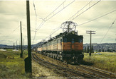 Three Unit MILW Boxcab Coupled on Eastbound at Butte - July 1970