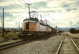 Two MILW Little Joes Eastbound at Rocker, MT - July 1970