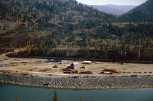 BN #28 Nearing Libby Dam 10-24-1970