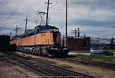 MILW Little Joe E75 with Westbound at Butte Yard - July 1970.jpg