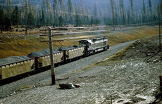 MK Ballast Train - Rock Creek  05  11-24-1970