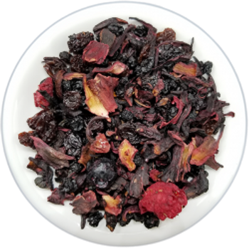 Hibiscus Joy Hemp Leaf Tea