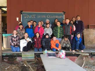 Ernie Nester Chapter Kicksoff Annual Trout In The Classroom Program