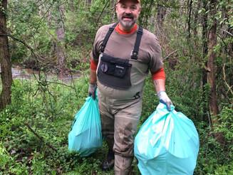 Dunloup Creek Cleanup: April 22, 2017