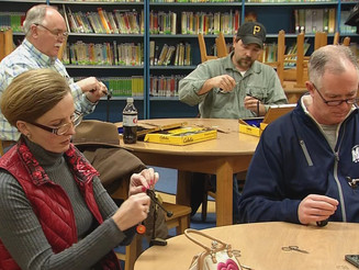 ENCTU's Angling Arts Classes Featured on Television
