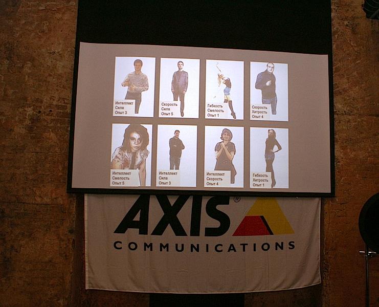 Аватары из квеста для компании AXIS
