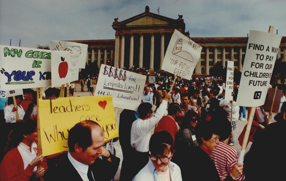 Oklahoma Teacher's strike 1990