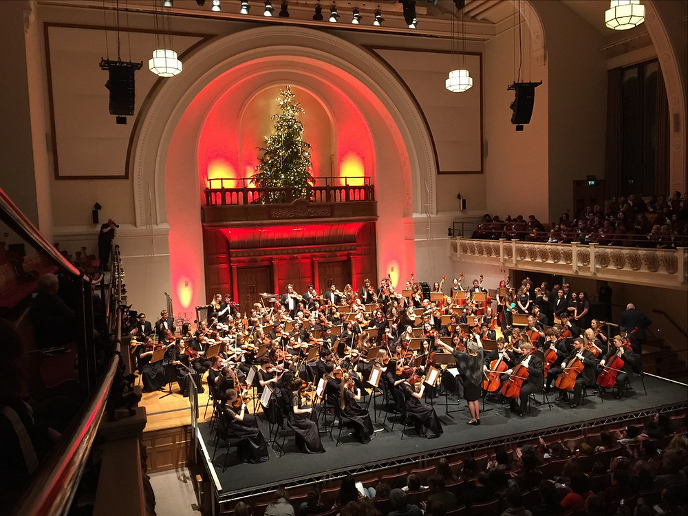 Edmond Public Schools Orchestra performing