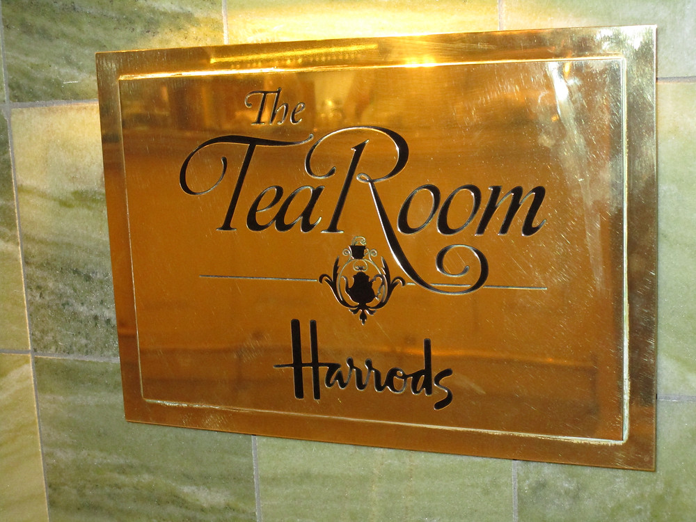 The Tea Room at Harrods