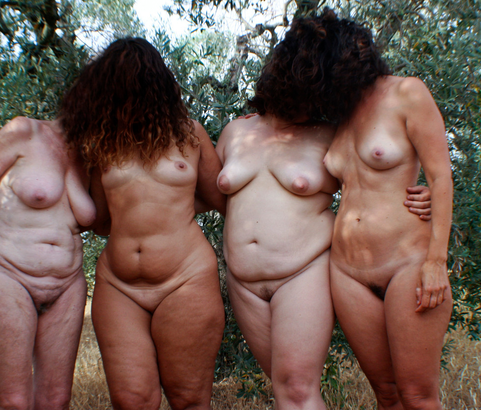 Real women 2021 in the italian country