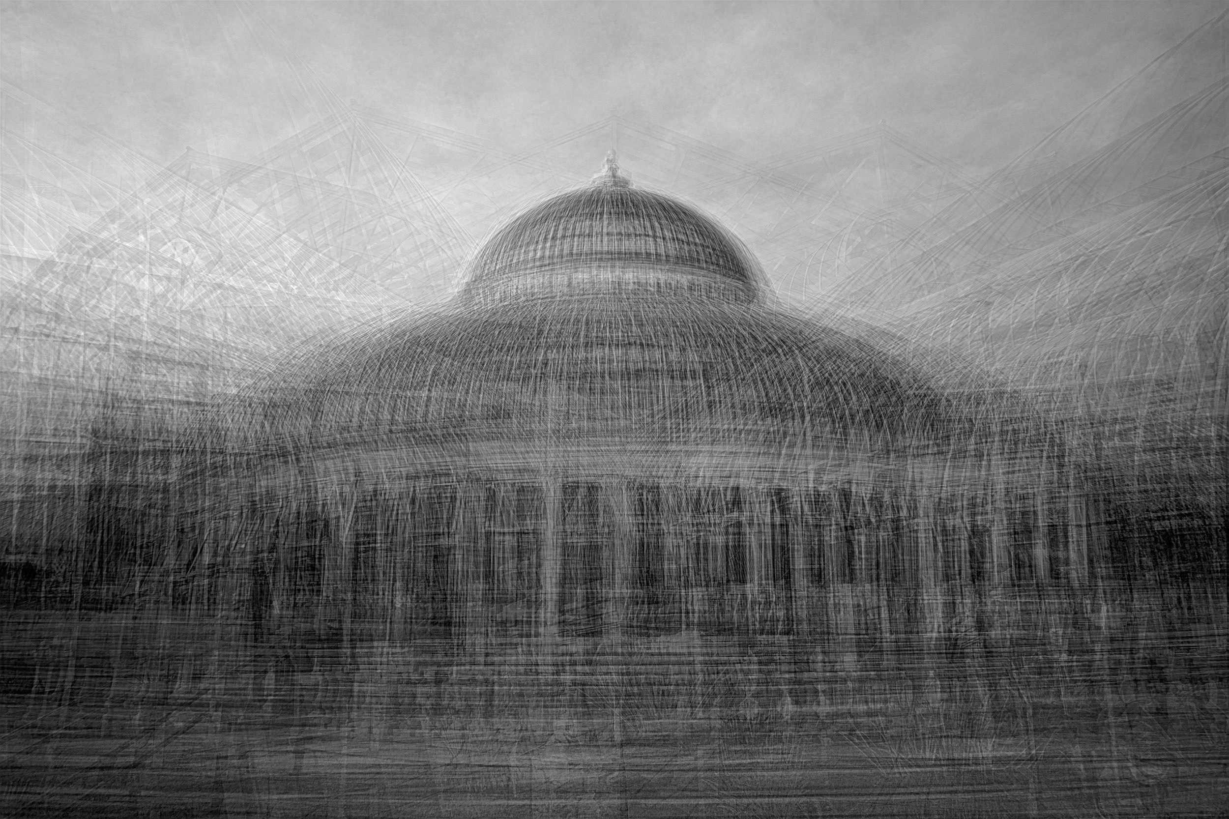 Photo Sketch #2 - Como Conservatory