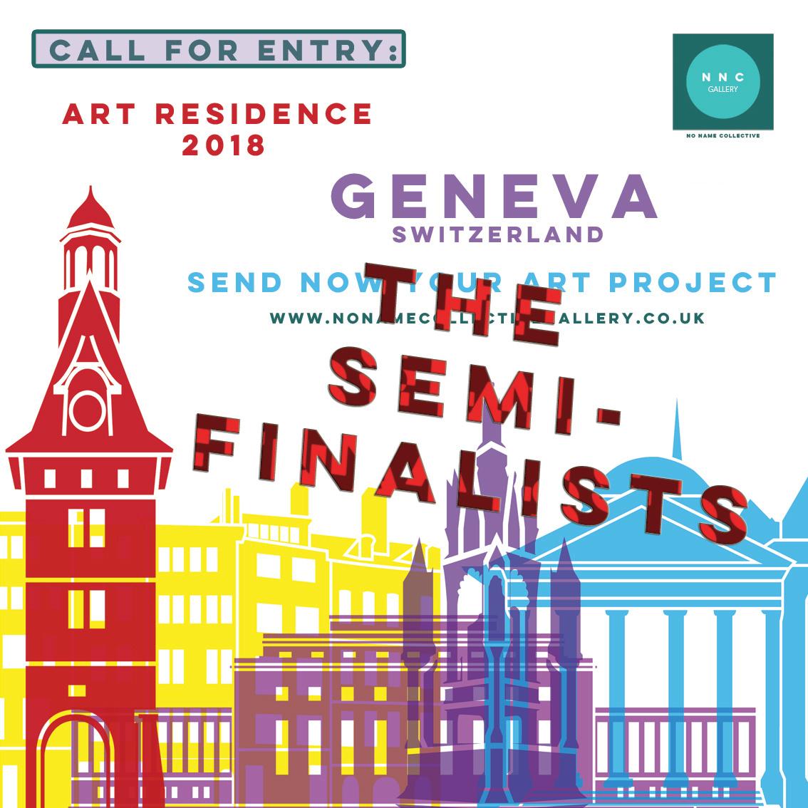 Art Residence Geneva Semi-finalists