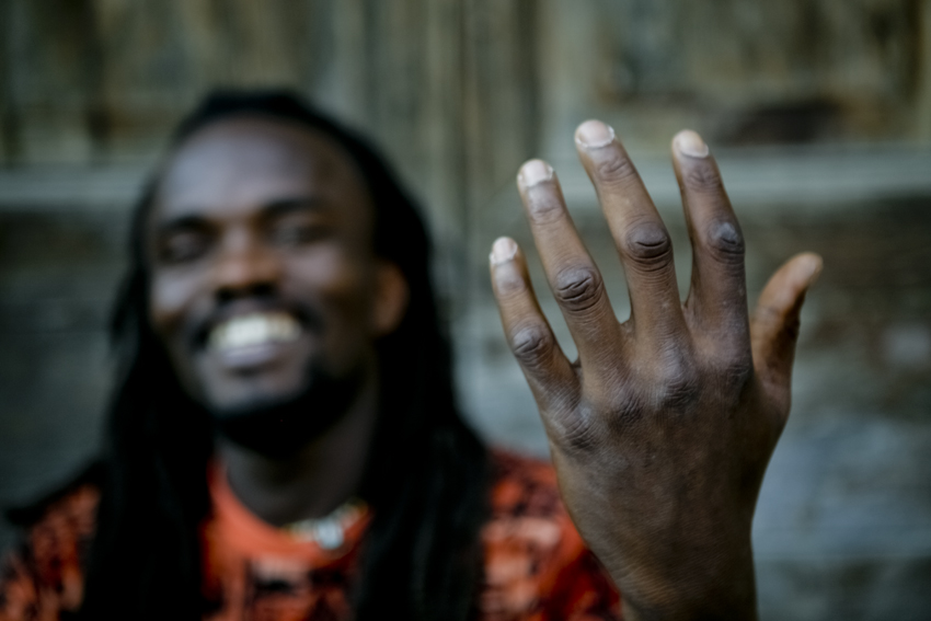 Hands and faces of the world