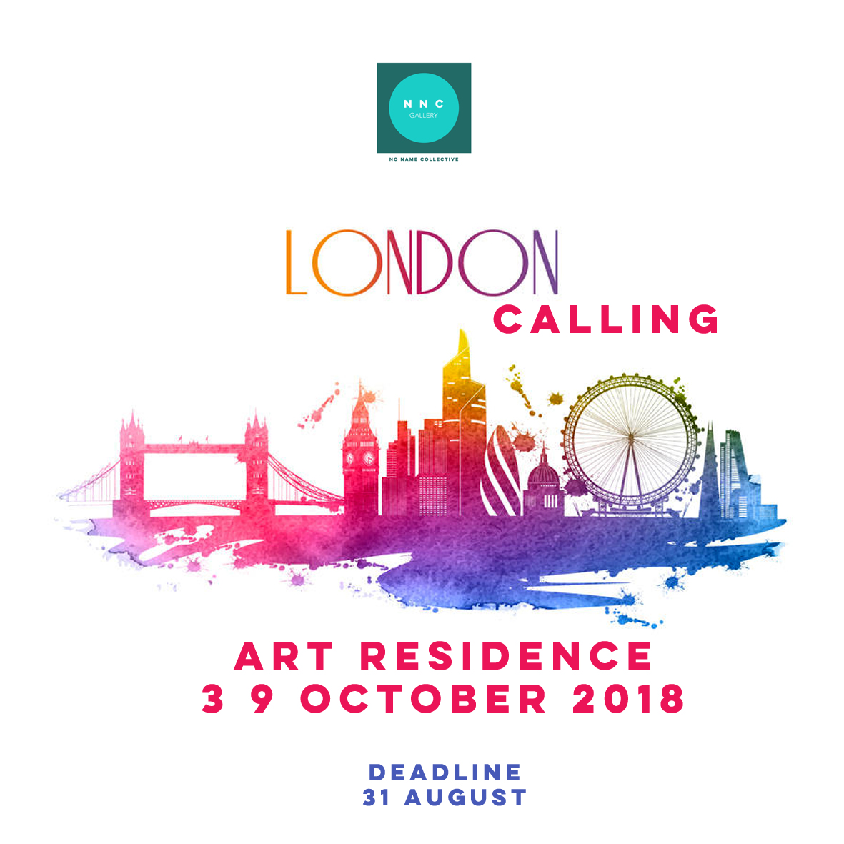 Call for Artists 2018 London