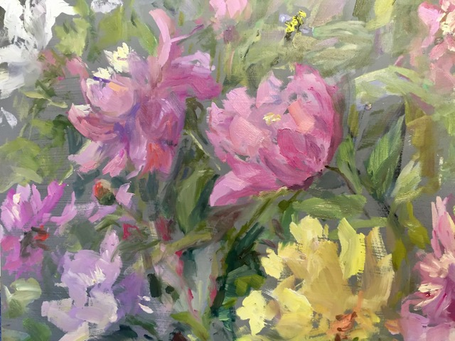 peonies-and-bumble-bee