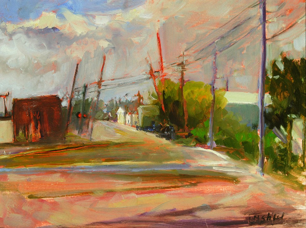 Beyond the Tracks, o-c, 12%22x16%22, $89