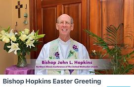 Bishop Hopkins Easter Greeting on Vimeo.